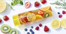 フルーツをたっぷり入れて楽しもう! かわいいアイス紅茶用タンブラーセットで夏を先取り