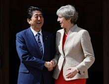 安倍首相、G7の結束呼び掛け