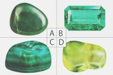 【心理テスト】4つの緑の石、お守りにしたいものは? 答えでわかるあなたのチャームポイント