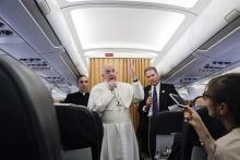 北朝鮮問題、外交解決を=ローマ法王