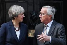 離脱交渉、進捗の判断焦点に=けん制し合うEUと英