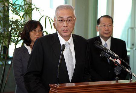 事実上3人の争い=5月20日投票-台湾・国民党主席選