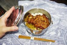 日本統治時代の台湾の金鉱で作業員が食べていた弁当を食べよう / かつての作業員弁当を再現して販売