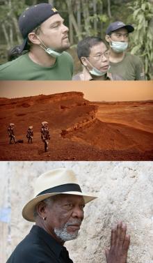 レオナルド・ディカプリオなどの大物が出演する、ナショジオTVシリーズ6本が配信中!