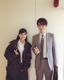 芳根京子、先輩ユースケ・サンタマリアとの写真を公開 5年前と比較し「オーラが違う!」の声