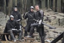 "<span class=""hlword1"">デヴィッド・ベッカム</span>、騎士姿で俳優出演!『キング・アーサー』場面写真解禁"