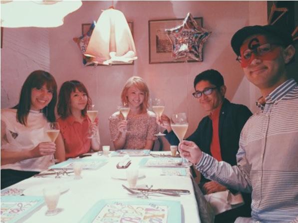 薬丸裕英 「B型会」のIVANらとE-girls・Amiの誕生会開催