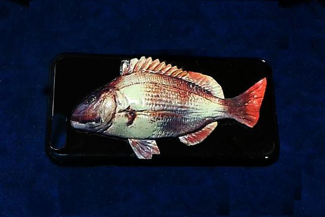 自分が釣った魚がiPhoneケースに!―3Dで凹凸まで再現
