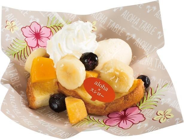 スシローに本格スイーツ「ハワイアン・フレンチトースト」が新登場!