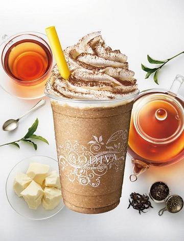 ゴディバに「ショコリキサー ホワイトチョコレート ダージリンティー」--豊かな香りと爽やかな味わい