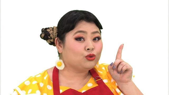 渡辺直美、エプロン姿でキュートに昼めしダンス