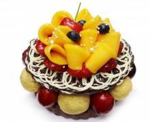 カフェコムサに豪華な「父の日の限定ケーキ」--マスカルポーネにチェリーやマンゴーをトッピング!