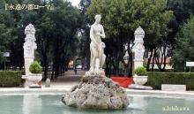 ナポレオンゆかりのボルゲーゼ公園 Villa Borghese in Roma