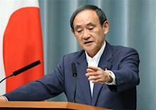 対北朝鮮、制裁履行を徹底=菅官房長官