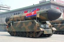 """また弾道<span class=""""hlword1"""">ミサイル発射</span>=北朝鮮中部から500キロ-準中距離弾か、日本海に落下"""