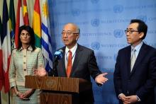 国連安保理、北朝鮮問題で緊急会合=追加制裁へ米中協議