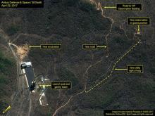 ミサイル基地で建設活動=北朝鮮
