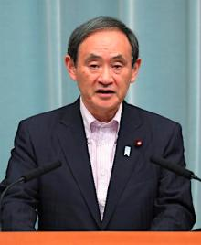 安倍首相「国際社会への挑戦」