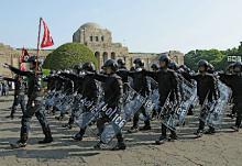警視庁機動隊が観閲式