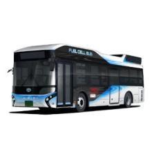 関空でFCバスの運行実証--西日本初、関空旅博で空港内バスツアーで試乗も