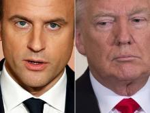 米仏首脳、25日に初会談=貿易・環境問題で隔たり