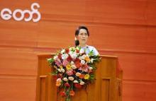 内戦終結へ協力訴え-スー・チー氏=ミャンマーで和平会議開幕