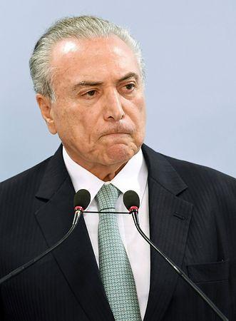 大統領、辞任を拒否=議会で弾劾請求の動き-ブラジル