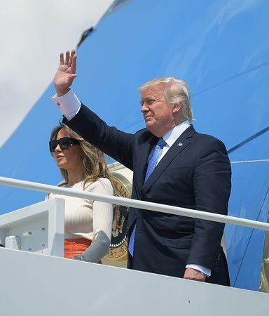 米大統領、中東・欧州に出発=局面打開へ初外遊