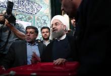 現職ロウハニ師に強硬派挑む=大統領選の投票開始-イラン