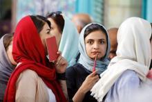 現職ロウハニ師優勢=中間集計で得票率56%-イラン大統領選
