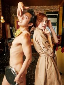 ベッキー、裸一貫つながりのアキラ100%とNYロケ「世界に通じる人」