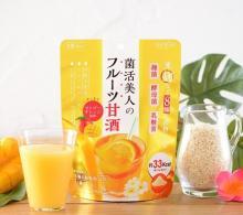 夏にぴったり!マンゴーオレンジ味のフルーツ甘酒