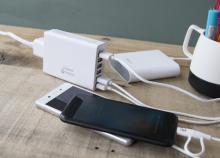 cheero、QC3.0対応の6ポートUSB充電器を発売