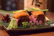 贅沢なウニと肉のコラボを、飲み放題のプレミアム日本酒で堪能!『日本酒バル 蔵バル』梅田店