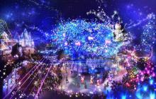 サンリオピューロ、人気キャラ総活躍の夏祭り開催決定 史上最高50万球イルミ輝く