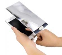 ケンコー・トキナー、Lightningポートに装着できるスマホ用の拡大鏡を発売