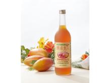 人気の野草源酵素入り酢飲料にトロピカルなマンゴー味!