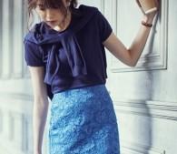 GUの華やかスカートで、暑くてダルい日もおしゃれに