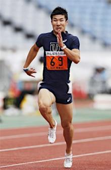 桐生、10秒24で優勝=関東学生陸上