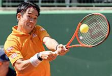 錦織、逆転で準決勝へ=男子テニス