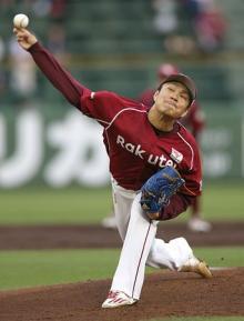 則本、10奪三振6勝目=プロ野球・オリックス-楽天