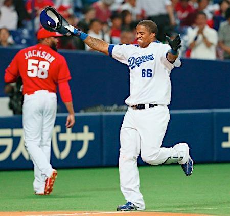 ビシエドがサヨナラ弾=プロ野球