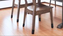 「家具の靴下」って、カッコ悪くないですか!?  見た目スッキリで床の傷を防ぐにはコレ!