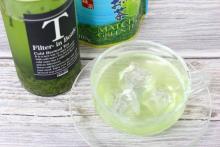 夏にゴクゴク飲みたい♪氷水で入れる緑茶が簡単&おいしい&美しい