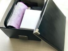 突然来る不幸のために…。「葬祭ボックス」による必要品の収納ポイント4つ