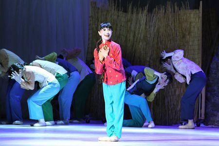人民大会堂でバレエ公演=日中国交正常化45周年記念