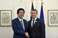 日仏、アジア安保で協力推進