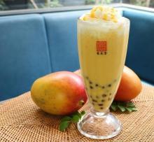 台湾カフェ春水堂の日本限定タピオカマンゴーミルクティー