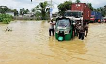 豪雨災害の死者122人に=スリランカ