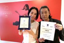 第70回カンヌ国際映画祭、日本人女性監督が受賞 パルムドールに弾み